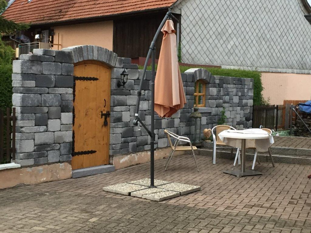 Sichtschutz Aus Steinen Bauteam Bjorn Kromer